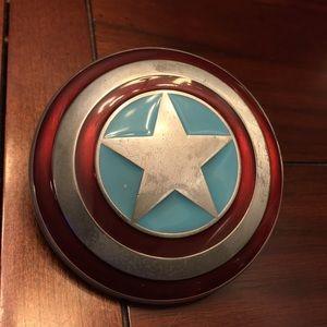 Captain America Shield Belt Buckle